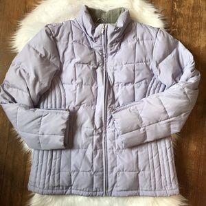 Lavender Puffer Coat